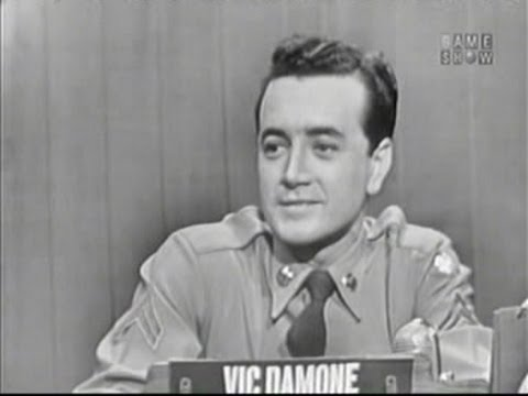 What's My Line? - Vic Damone (Nov 30, 1952)