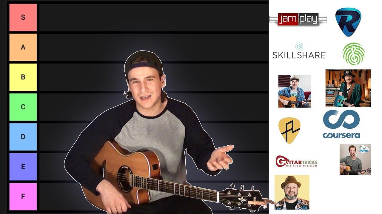 Online Guitar Teacher Tier List Youtube