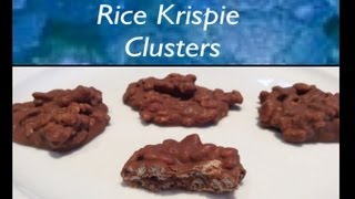 How To Make Rice Krispie Clusters (nestle Crunch Clusters)
