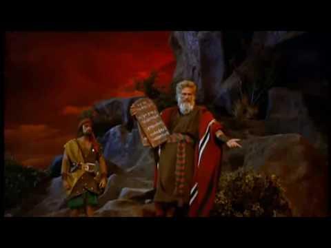 Die Zehn Gebote  Berg Sinai