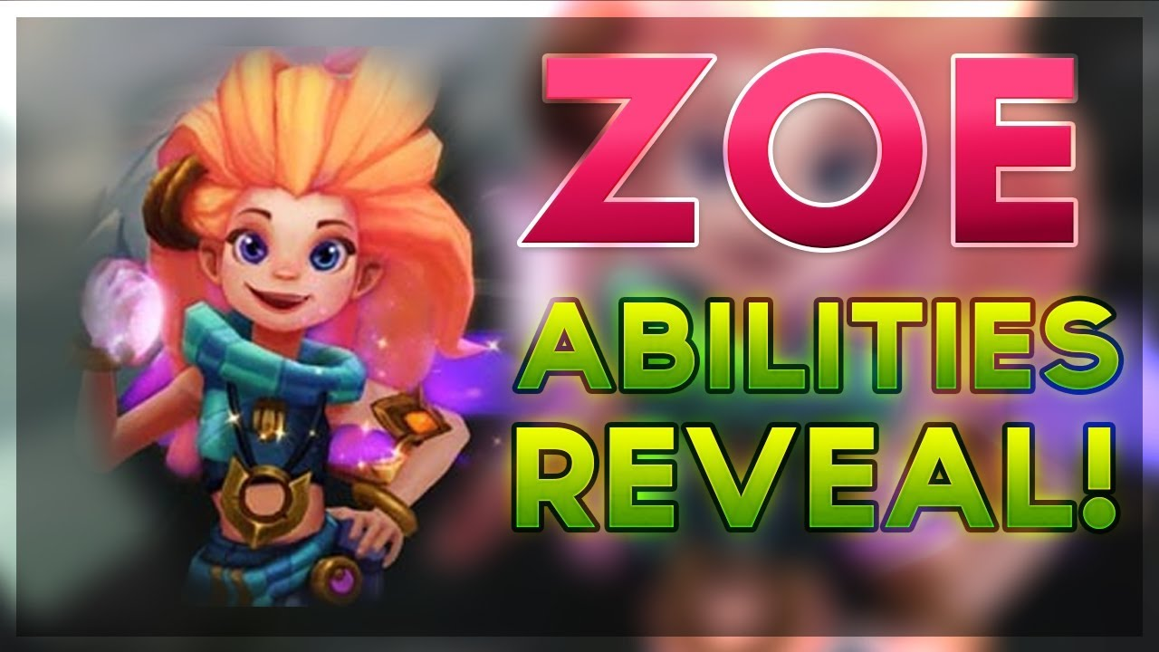 New Champion Zoe