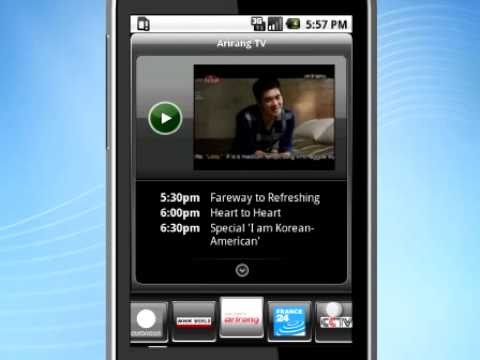 SPB TV: mobile TV solution for Android - YouTube