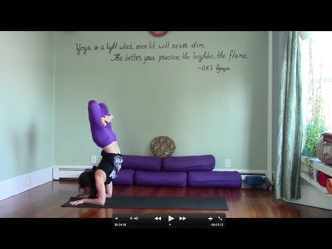 45 Minute Challenging Yoga Practice with Leigha | Advanced Vinyasa