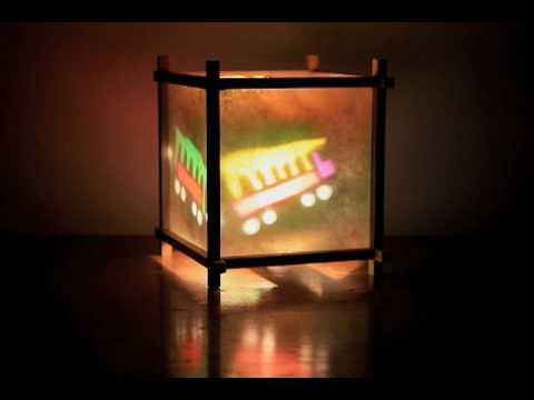 Spinning Night Light Youtube