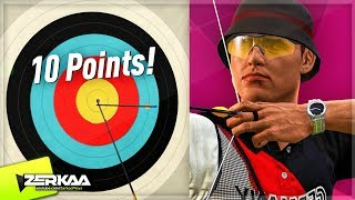 MOST ACCURATE AT ARCHERY! (London 2012)