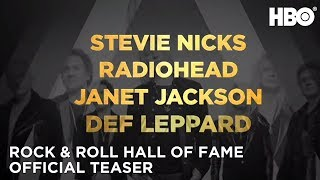Rock and Roll Hall of Fame (2019): Janet Jackson, Stevie Nicks, Harry Styles & More! | HBO