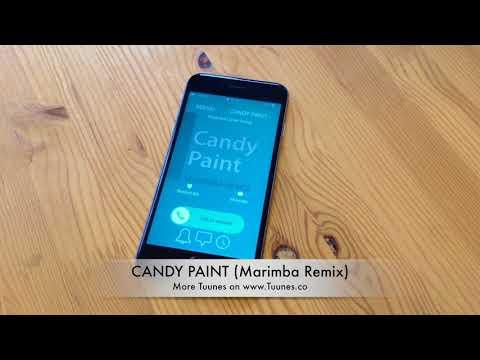 Candy Paint Ringtone - Post Malone Tribute Marimba Remix - iPhone & Android Ringtone
