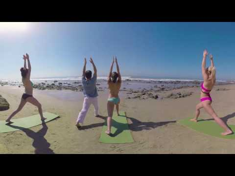 VR Bikini Yoga - Malibu - Lesson 2: Standing Poses