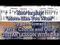 How To Play Move Like You Want Ben Howard Guitar Lesson Part 2 mp3