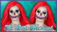 ARIEL LA PETITE SIRÈNE VERSION SQUELETTE (Mermaid Skull Makeup) | Halloween 2019