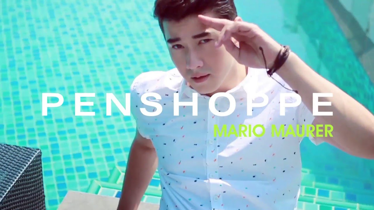 Mario Maurer for Penshoppe Summer 2016 - YouTube