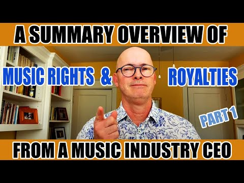 Music Rights and Royalty Overview - Basics of Music Copyrights and Royalties Part 1