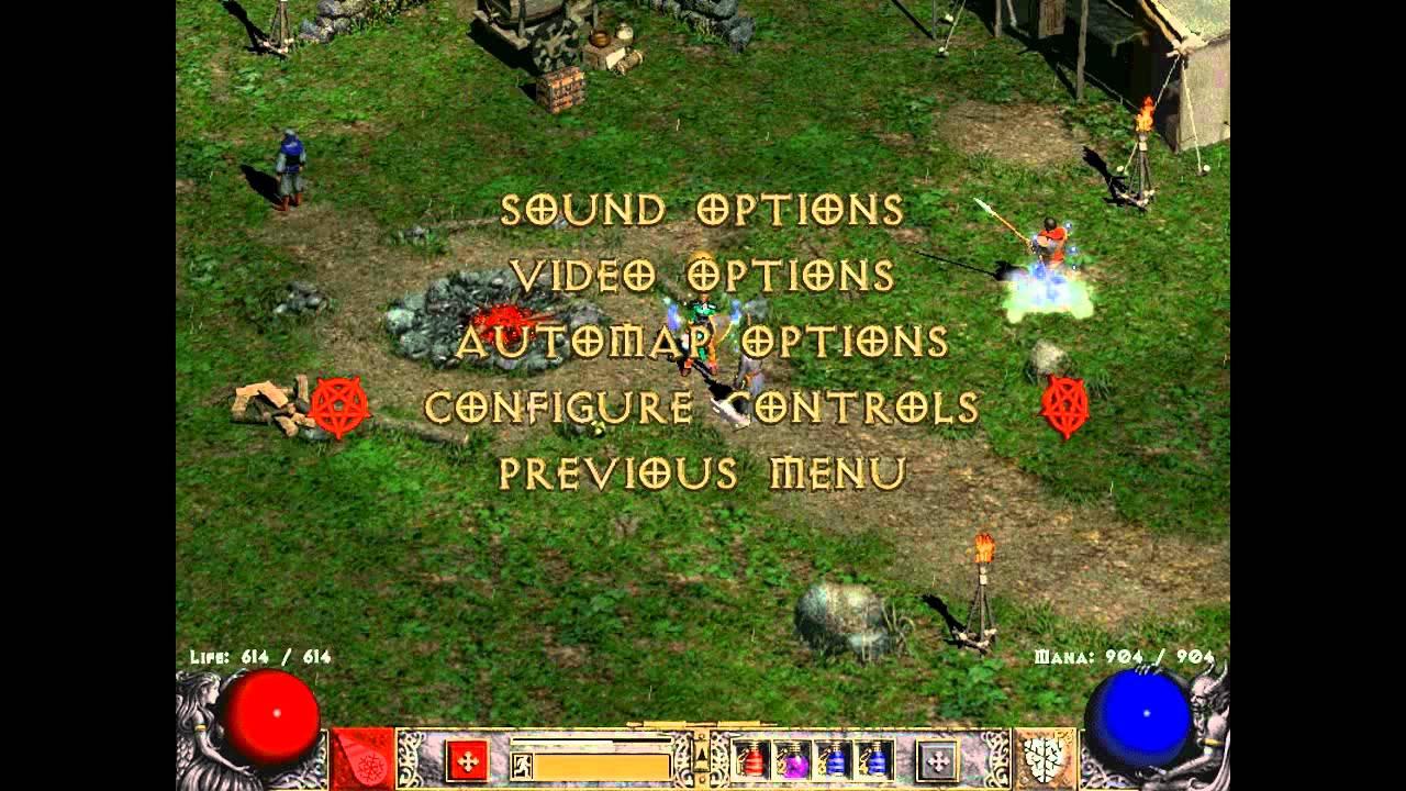 Diablo 2 LOD skill bind tid bit by craftchest