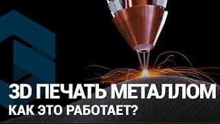 видео 3D печать металлом. Подробное описание технологии.