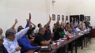 Votaciones del Comité de Huelga del STAUS (11 de abril de 2019)