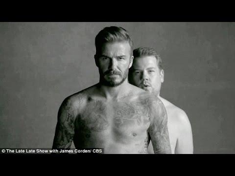 WOMEN  COME IN, when David Beckham just underwear