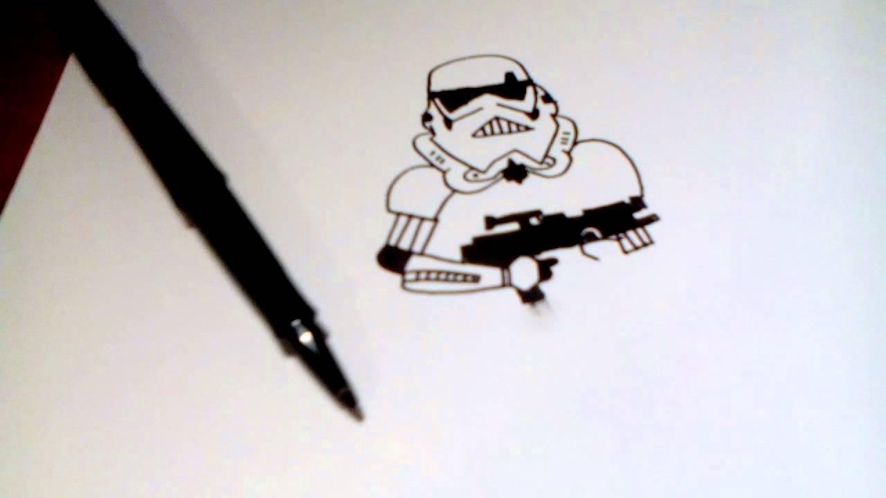 Comment Dessiner Un Stormtrooper (star Wars)facile