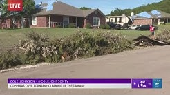 Copperas Cove residents cleaning up damage after EF-2 tornado