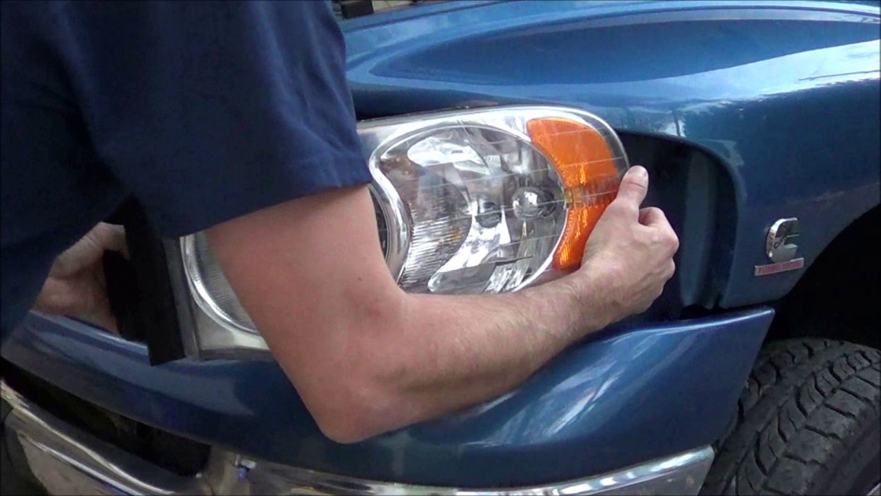 2004 Dodge Ram 3500 Led Headlight And Foglight Upgrade How To