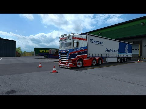 Euro truck simulator 2 1.30.ProMods 2.26.Huesca-Barcelona.Scania S500 PWT Thermo Combo