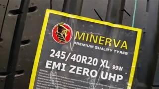 Обзор редкой шины или РЕДКИЙ обзор -  Minerva Emi Zero UHP 245/40 20