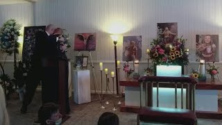 Gabby Petito's father, stepfather speak at funeral
