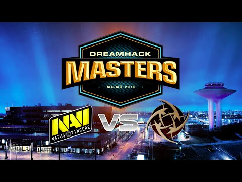 CS GO :  Na'Vi  vs  NiP  - FINAL Dreamhack Malmo 2016