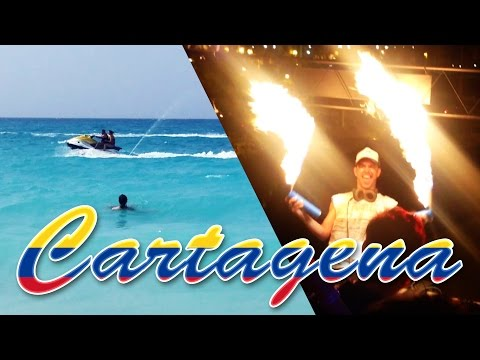 CARTAGENA, Colombia : beautiful beaches and wild parties!