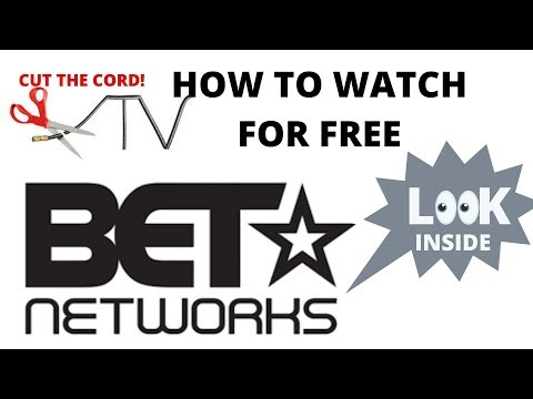 How to watch live free stream BET channel streaming livestream