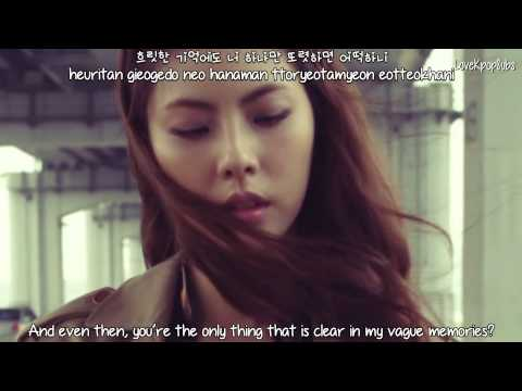 Yoon Jong Shin (With Park Ji Yoon) - Goodbye MV [English subs + Romanization + Hangul] HD