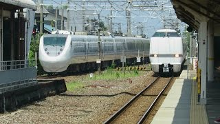 【JR西日本】人身事故で混乱の北陸本線・列車撮影記 683系・681系・521系(丸岡駅)2015年8月8日