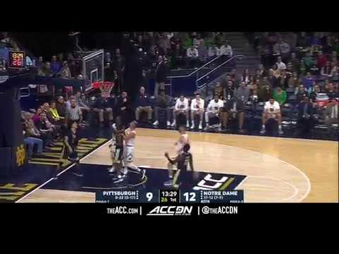 Pittsburgh vs Notre Dame College Basketball Condensed Game 2018