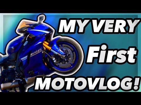 FIRST YOUTUBE VIDEO! *MOTOVLOG*