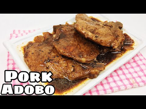 Pork Chops Adobo |Easy  Pork Adobo [Easy Pork Adobo]