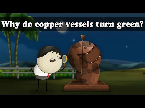 Oxidation - Why do copper vessels turn green? | Smart Learning for All