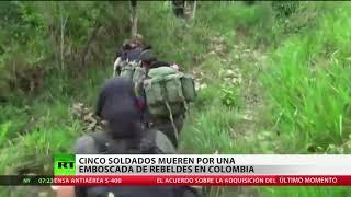 Mueren varios soldados de Colombia tras sufrir una emboscada en Nariño