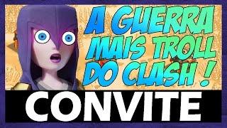 CONVITE PARA GUERRA MAIS TROLL DO CLASH OF CLANS l Feat DidiGPX