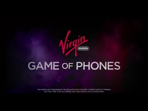 Virgin Mobile's Game of Phones - VO Rupert Degas