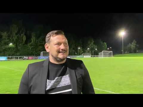 Marc Bircham post match v UCD (FAI Cup) 17th Sept 2021