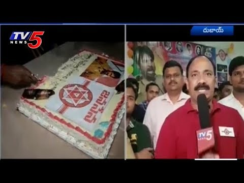 Pawan Kalyan Birthday Celebrations In Dubai | TV5 News
