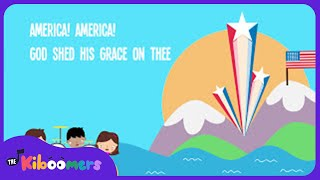 Скачать America The Beautiful Song For Kids American Patriotic Music For Children The Kiboomers