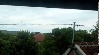 Detik-detik jatuhnya pesawat jet T-50 Pameran Dirgantara Jogja 20 Desember 2015