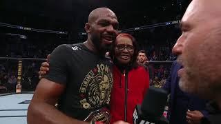 UFC 247: Джонс vs Рейес - Слова после боя