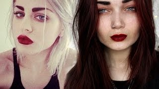 Grunge Makeup Tutorial | Inspired By Frances Bean Cobain