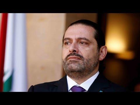 Lebanon's Saad Hariri lands in France for talks with Macron