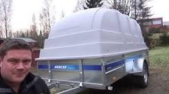 Esittelyssä jarrukärry AKU CP350-RBH/1400kg
