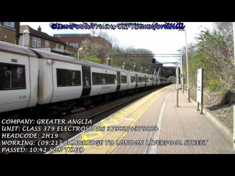 Season 8, Episode 118 - Trains at Stamford Hill station