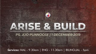 Arise And Build - Ps Jijo Punnoose [ENG]