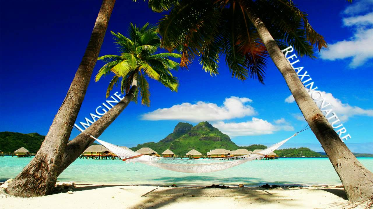 Tropical Island Beach Ambience Sound: Sleep And Relaxing Music, Tropic Island! #2