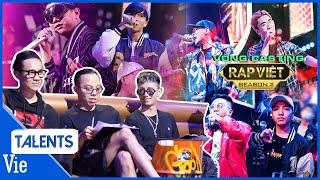 Vòng Casting Rap Việt mùa 2 cực hot, xuất hiện nhiều nhân tố underground cưỡi beat gây bất ngờ